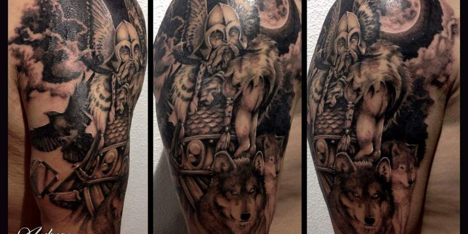 tattoo black&gray 39