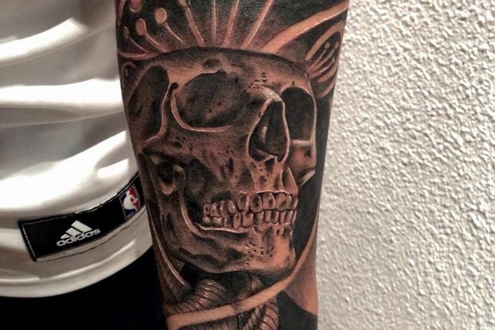 tattoo catrina calavera 1