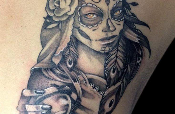 tattoo catrina calavera 13
