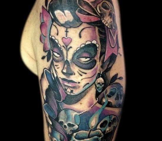 tattoo catrina calavera 14