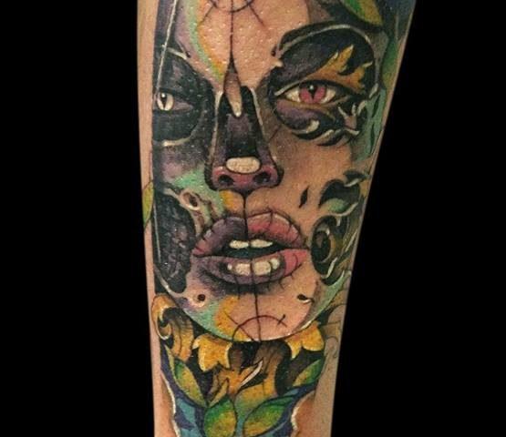 tattoo catrina calavera 19