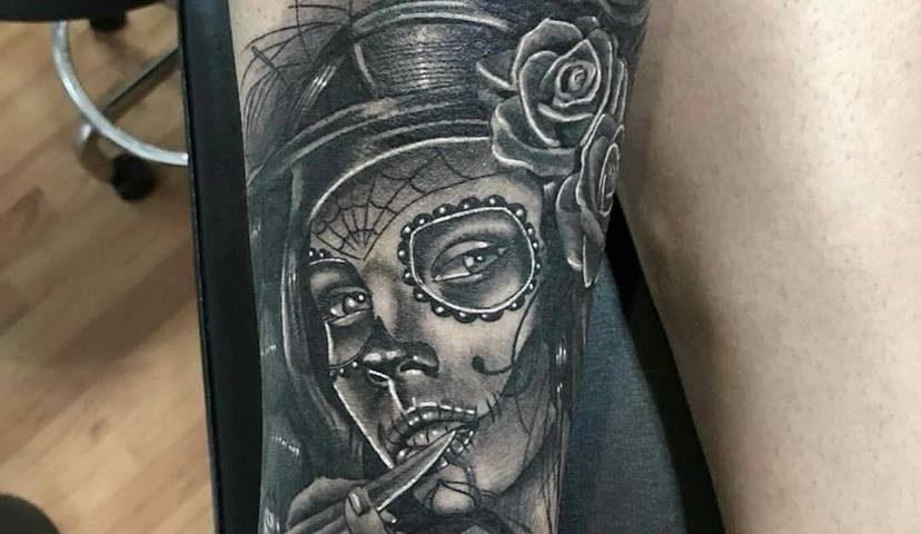 tattoo catrina calavera 21
