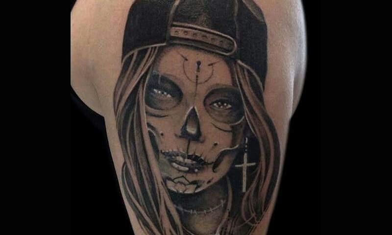 tattoo catrina calavera 24