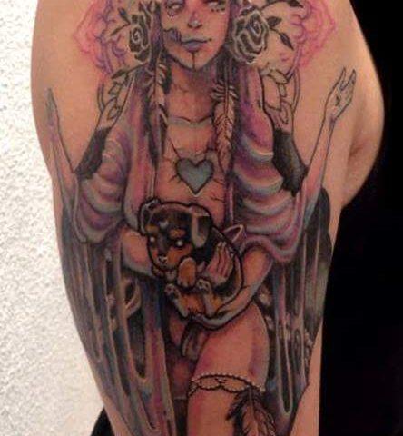 tattoo catrina calavera 28
