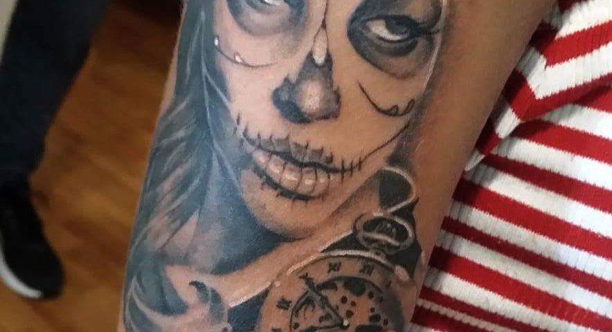 tattoo catrina calavera 30