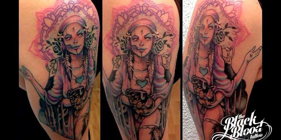 tattoo catrina calavera 4