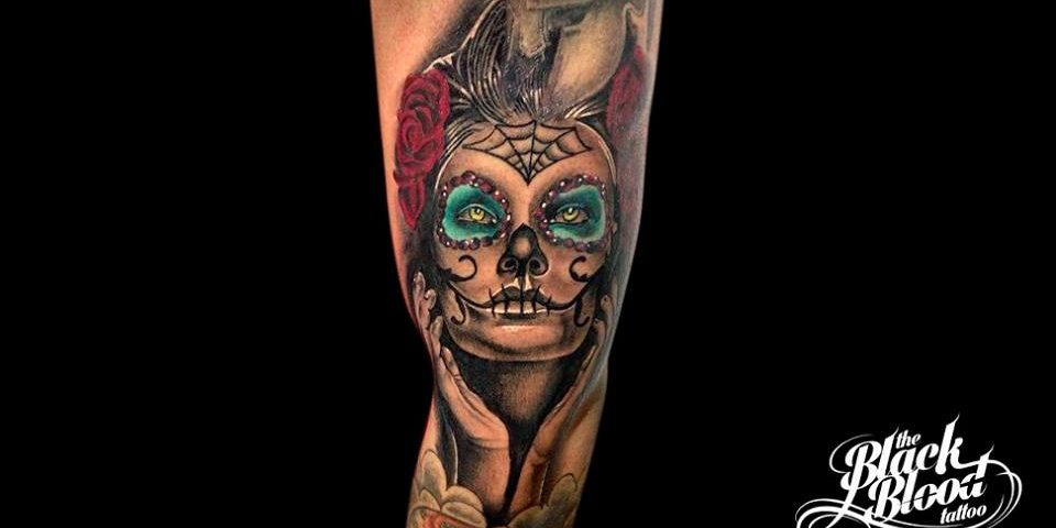 tattoo catrina calavera 5