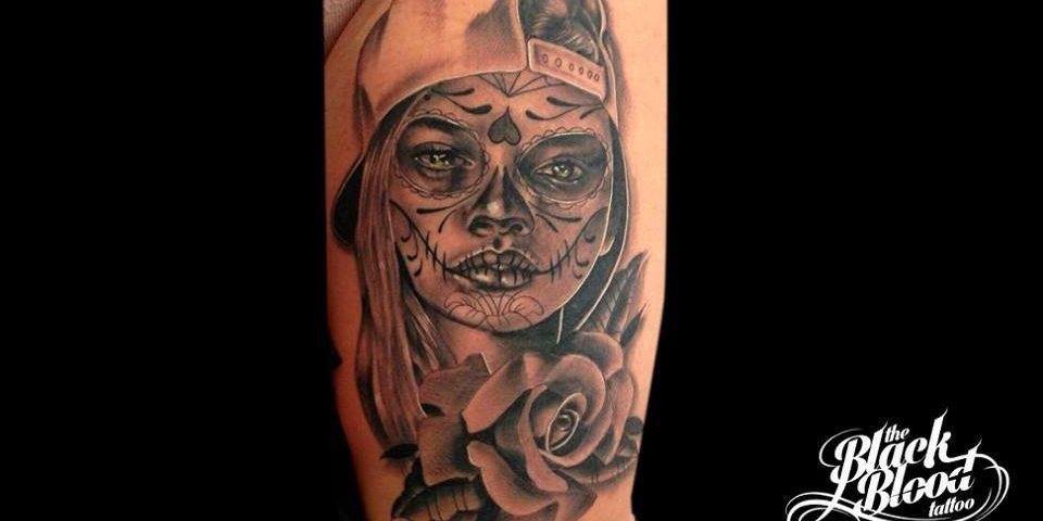 tattoo catrina calavera 6