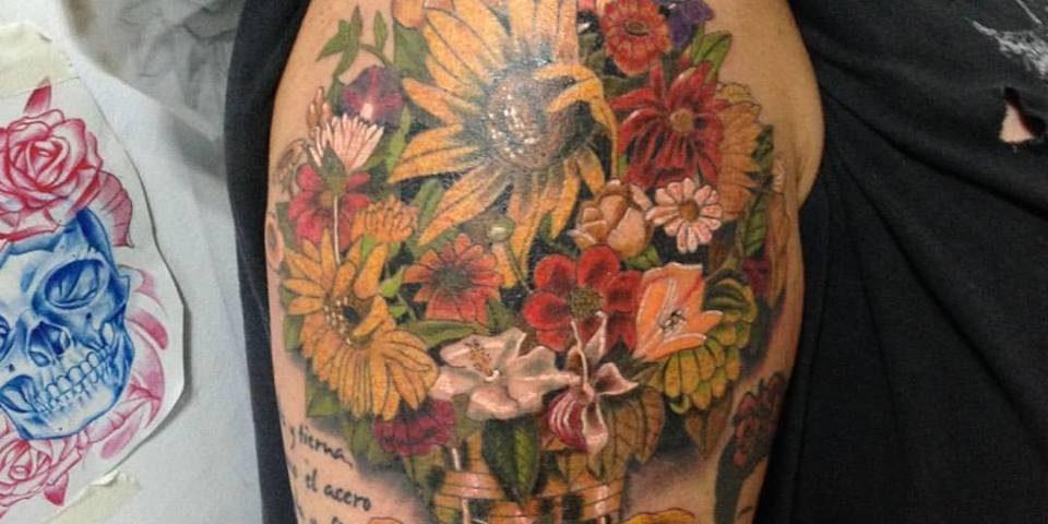 tattoo flores 11