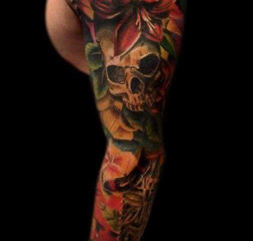 tattoo flores 18