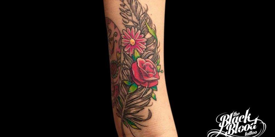 tattoo flores 5