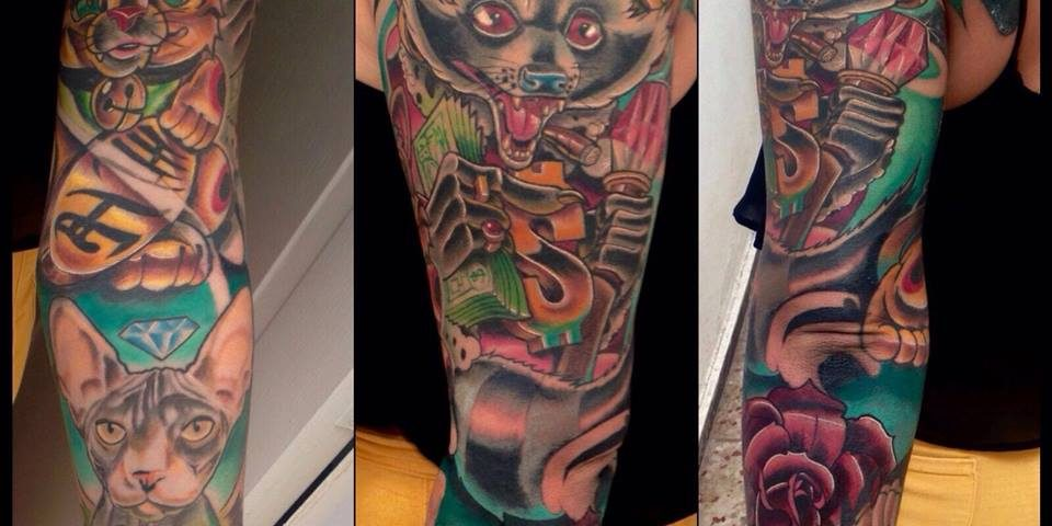 tattoo new school 5